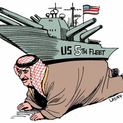 US 5th Fleet with Arabs' Oil and Money