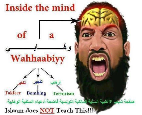 Wahhabists' Mind